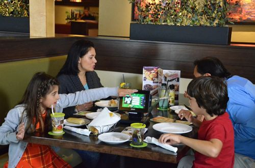 Olive Garden to Introduce Ziosk Tabletop Tablets