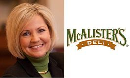 Women in Business Q&A: Carin Stutz President, McAlister's Deli