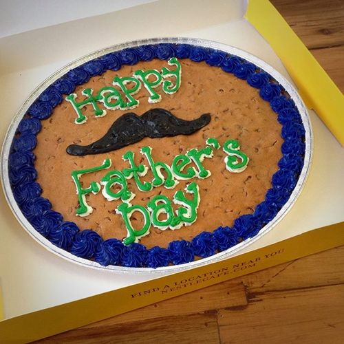 Celebrate Dad - And Your Grad - With a Cookie Cake from Nestlé Toll House Café by Chip