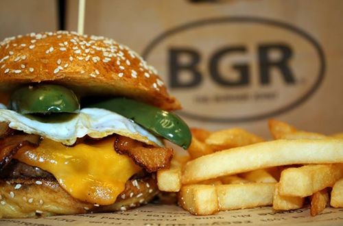 "The Burger Joint Voted ""Best Burger in DC"""