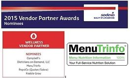 "MenuTrinfo is nominated for a ""Partner Award"" by Sodexo"