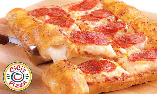 Stuffed Crust Pizza Joins Endless Buffet at CiCi's