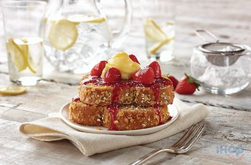 New Double-Dipped French Toast – Sweet Brioche bread Coated In Corn Flakes And Oatmeal – Available At Participating IHOP Restaurants