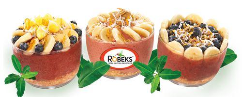 Robeks Introduces Hawaiian Açaí Bowls