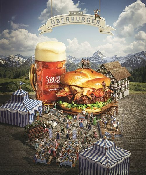 Red Robin Embraces Oktoberfest with the Introduction of the UberBurger to its Finest Line
