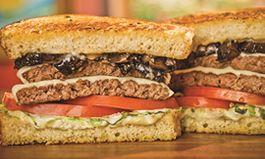 The Habit Burger Grill Debuts Roasted Garlic Portabella Double Charburger