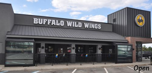 Another Buffalo Wild Wings Expands Their Outdoor Patio for Year-Round Use with a Roll-A-Cover Retractable Enclosure