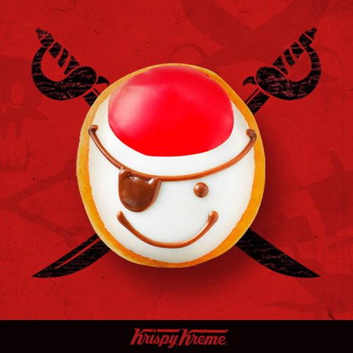 Lead Your Pirate Crew to Krispy Kreme for Free Doughnuts