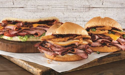 Arby's Welcomes Jalapenos, Bacon And Flatbread To The 13-hour Smokehouse Brisket Family