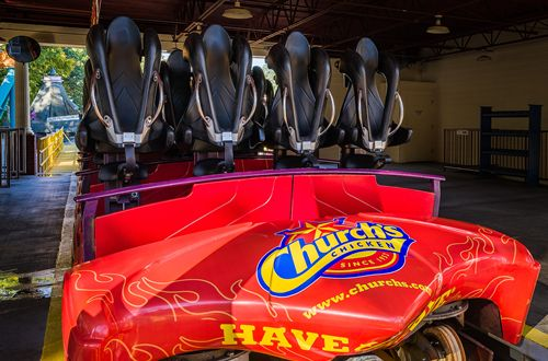 Church's Chicken Becomes the First Quick Service Restaurant to Sponsor Ride at Six Flags Over Georgia
