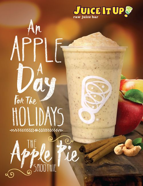 Juice It Up! Celebrates the Return of Autumn with Limited Edition Smoothie