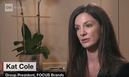 Kat Cole, Group President of Focus Brands, Discusses Higher Wages