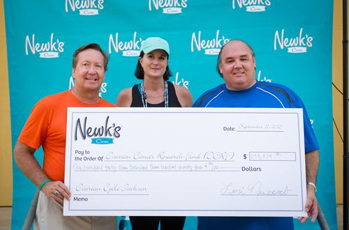 Newk's Cares Exceeds $150,000 Fundraising Goal For Ovarian Cancer Research