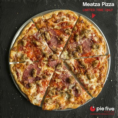 There's A Meat Up at Pie Five Pizza