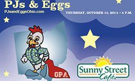 Sunny Street Café Hosts Fourth Annual PJs and Eggs
