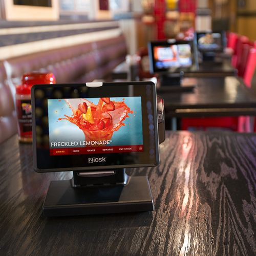 Ziosk Completes Installation of Tabletop Tablets Across All U.S. Red Robin Gourmet Burgers Corporate Restaurants