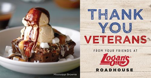 Logan's Roadhouse Invites Public to Help Thank a Military Service Member with Veterans Day Offer