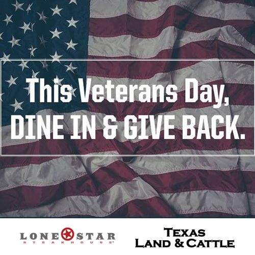 Lone Star Steakhouse and Texas Land & Cattle Committed to Navy Seals