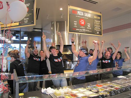 "MOD Pizza Celebrates Its Purpose-Led Culture With ""Spreading MODness"" 2015"