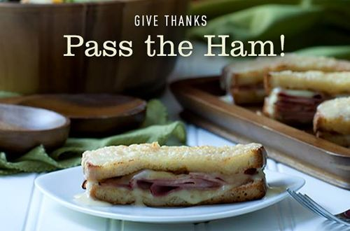 """McAlister's Deli Asks Fans To """"Pass The Ham"""" This Thanksgiving"""