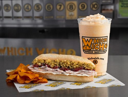 Which Wich Thanks Fans, Gives Back with Bag 8 Thank You Turkey Wich