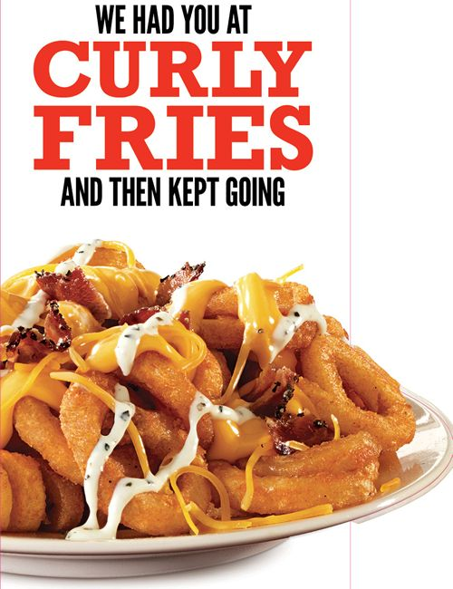 Arby's Adds Twist to Famous Curly Fries