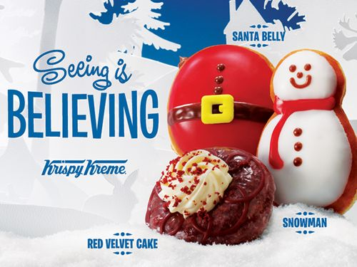 Krispy Kreme Spreading Joy With an Assortment of Holiday Sweet Treats