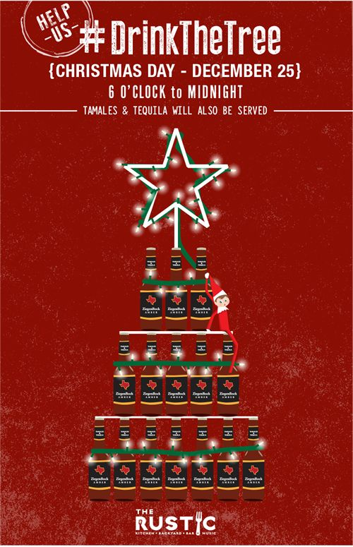 The Rustic Invites Dallasites to 'Drink the Tree' to Wrap Up Christmas