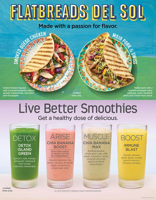 Tropical Smoothie Café Offers Guests a Variety of New Options in the New Year