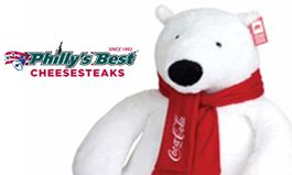 Warm Up the Holidays with a Giant Coca-Cola Polar Bear at Philly's Best