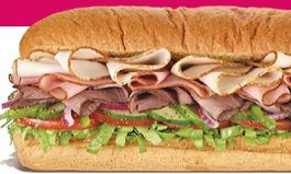 All SUBWAY Footlongs $6 Starting February 4th