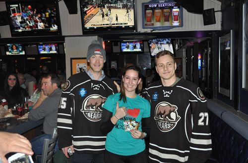 Arooga's and the Hershey Bears Raise $8522 for 'Running for Rachel'