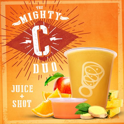 Juice It Up! Saves the Day with Raw Juice and Shot Combo