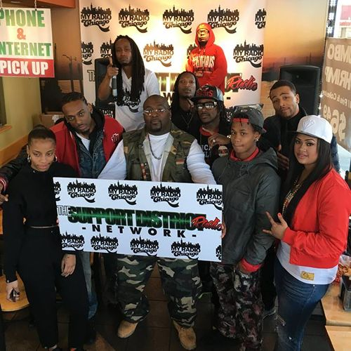 Just Shrimp of Tinley Park, IL Hosts My Radio Chicago
