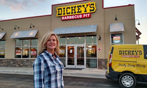 Marianna Is Boot Scootin' With New Dickey's Barbecue Pit