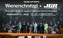 Pro Motocross Team Takes Over Wienerschnitzel for Charity
