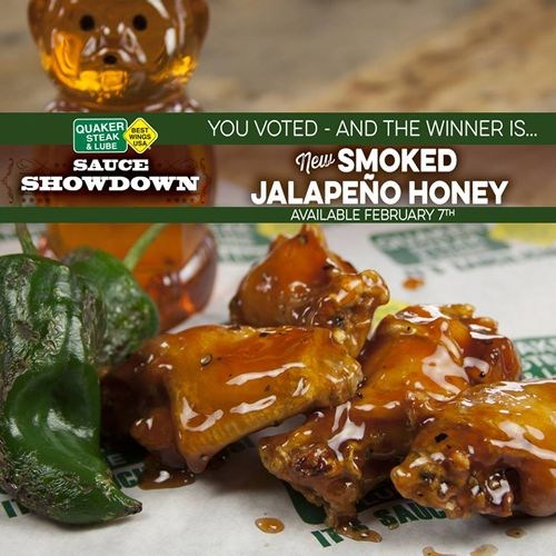Quaker Steak & Lube Smokes Out the Competition in Time for the Big Game