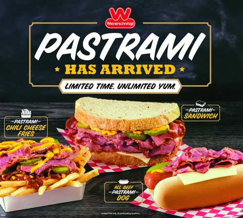 Wienerschnitzel Busts a Move to Celebrate the Return of Pastrami