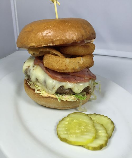 Mile High Burger and Carolina BBQ Burger on the Menu at Zinburger Wine & Burger Bar for the Championship Game