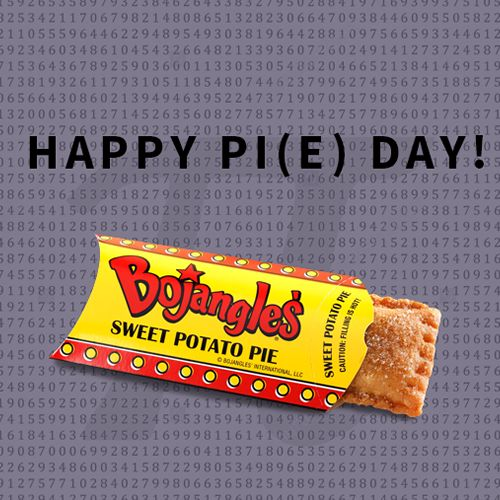 Celebrate Pi Day @ Bojangles', Get 3 Baked Sweet Potato Pies for $3.14
