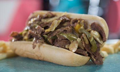 Hwy 55 Burgers, Shakes & Fries Celebrates National Cheesesteak Day with $5 Cheesesteaks