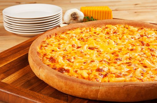 Mac & Cheese Pizza Back at Godfather's Pizza for Limited Time