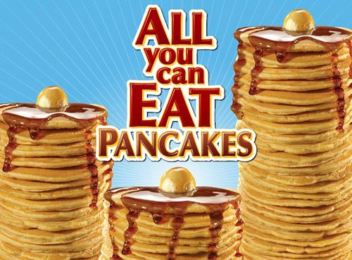 Steak 'n Shake Offers $3.99 All You Can Eat Pancakes Throughout 2016