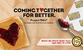 Which Wich Project PB&J Partners with Sysco to Spread Even More Love on National PB&J Day