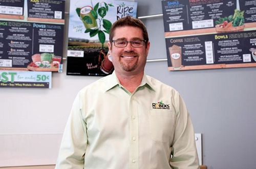 Franchisee takes the helm for Robeks Fresh Juice and Smoothie Bar franchise