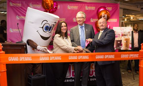 Excitement Brewing in Washington D.C. with Opening of New Multi-Brand Dunkin' Donuts and Baskin-Robbins Restaurant at the U.S. House of Representatives