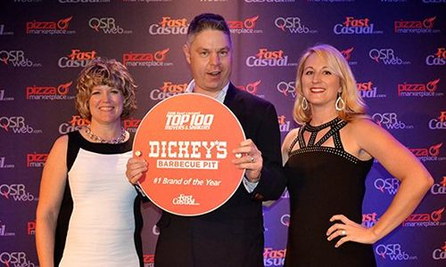 Dickey's Barbecue Pit Named Number One on Fast Casual's 2016 Top 100 Movers & Shakers List