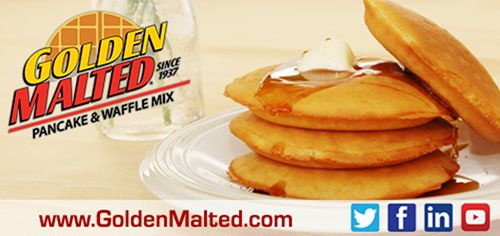 Golden Malted, the World's Largest Distributor of Waffle Mix and Irons since 1937, will be debuting new Puffy Pancakes & More in Booth #3018 at the 2016 NRA Show