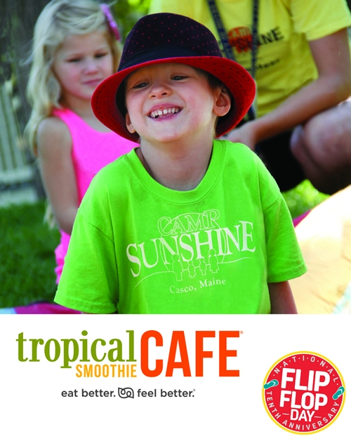 10th Anniversary of National Flip Flop Day Coming to Tropical Smoothie Cafe on June 17th