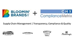 Bloomin' Brands, Inc. Goes Live with ComplianceMetrix's Supply Chain Management Solution
